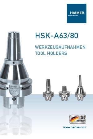 Haimer – HSK-A63/80 Tool Holders