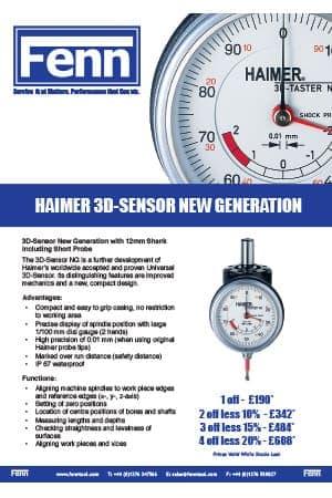 Haimer – 3D Sensors Special Offer